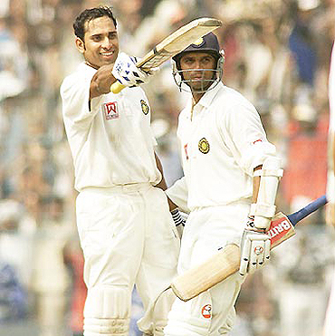 VVS Laxman and Rahul Dravid