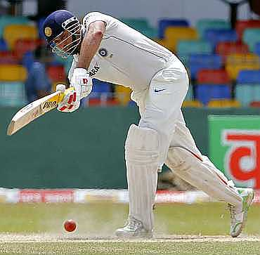 VVS Laxman is doubtful for the Test