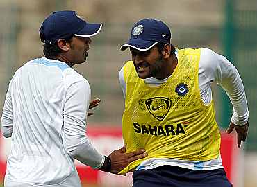 MS Dhoni and Murali Vijay