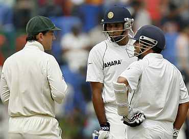 Ricky Ponting, Sachin Tendulkar and VVS Laxman
