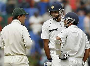 Ricky Ponting, Sachin Tendulkar and VVS Laxman
