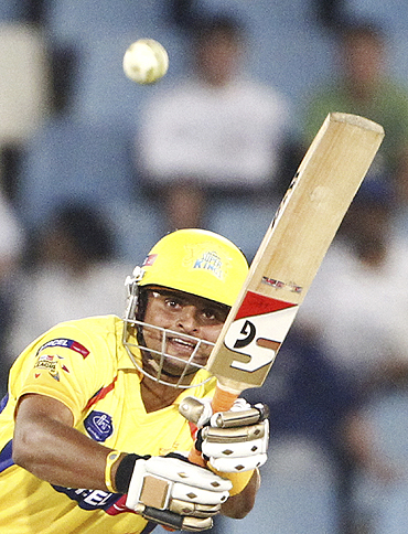 Chennai Super Kings' Suresh Raina