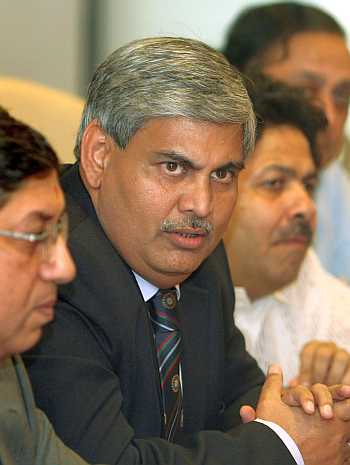 Shashank Manohar and N Srinivasan