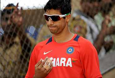 India's Ashish Nehra