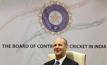 India's outgoing coach Gary Kirsten