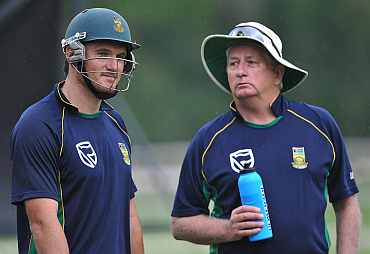 Graeme Smith and Duncan Fletcher