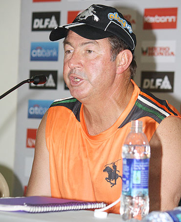 Pune Warriors' coach Geoff Marsh