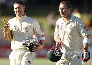 brad haddin and michael clarke