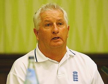 England coach Duncan Fletcher