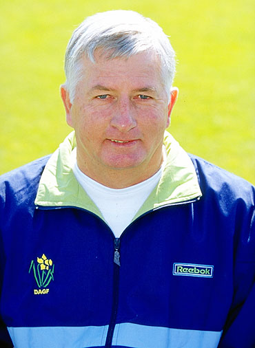 Duncan Fletcher the coach of Glamorgan