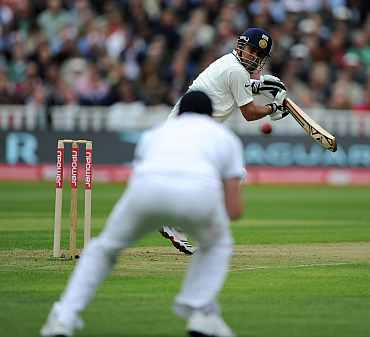 Sachin Tendulkar edges one to James Anderson