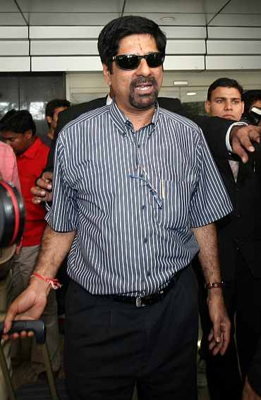 Chief selector Krihnamachari Srikkanth