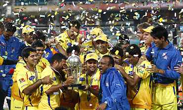 Mahendra Singh Dhoni-led Chennai Super Kings