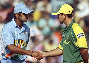 Rahul Dravid and Ricky Ponting