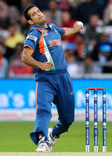 Irfan Pathan, who has been selected to play the last two ODIs against the West Indies