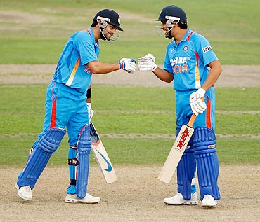 Virat Kohli and Rohit Sharma