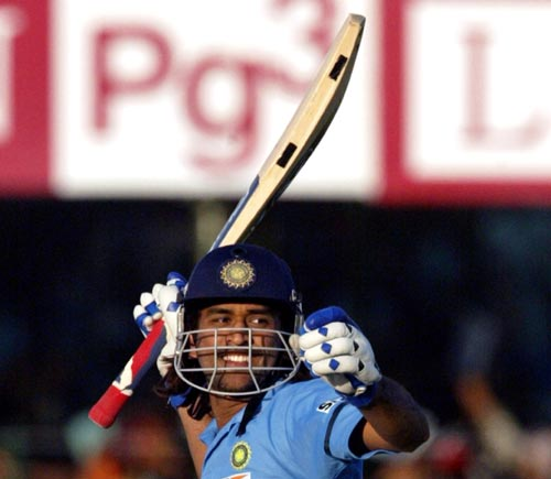 Mahendra Singh Dhoni: 183 not out