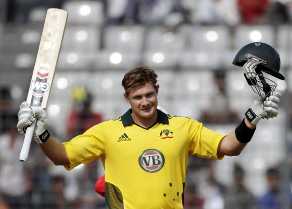 Shane Watson: 185 not out