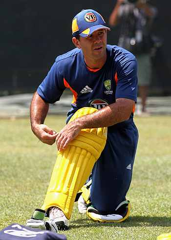 Ponting seeks help from his first coach Shipperd