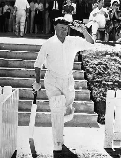 The unstoppable Bradman