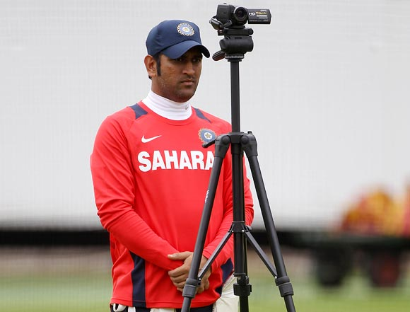 Skipper Mahendra Singh Dhoni