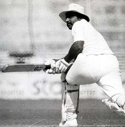 Gundappa R Vishwanath scored his maiden Test hundred against the Aussies, Kanpur, 1969