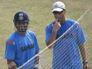 Sachin Tendulkar and Gary Kirsten