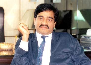 An old file picture of gangster Dawood Ibrahim