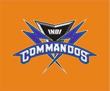 The logo of the Kochi IPL team