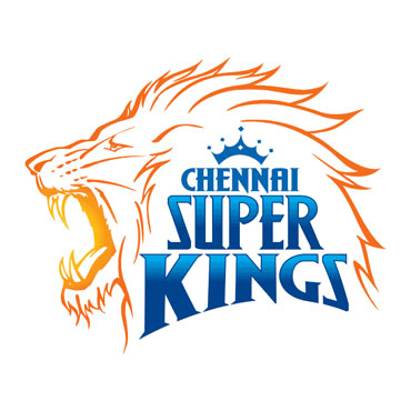 The logo of the Chennai Super Kings team