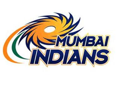The logo of the Mumbai Indians team