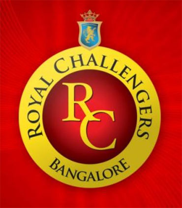 The logo of the Royal Challengers Bangalore team