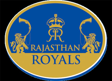 The logo of the Rajasthan Royals team