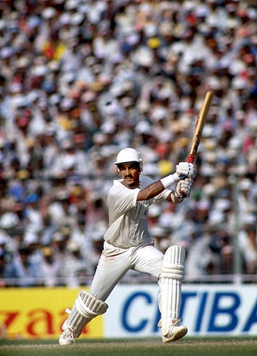 Srikkanth. India vs Pakistan. Nehru Cup. 1989. Kolkata.