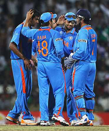 Indian cricket team.