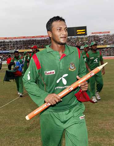 Bangladesh captain Shakib Al Hasan