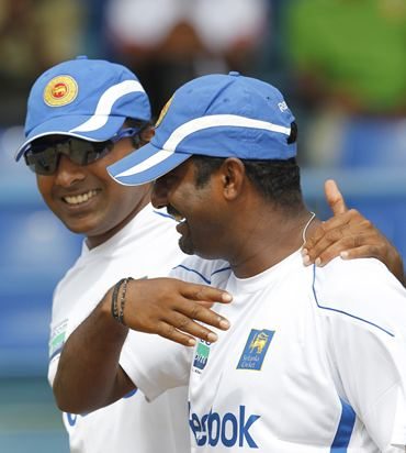 Jayawardene and spin ace Muralitharan