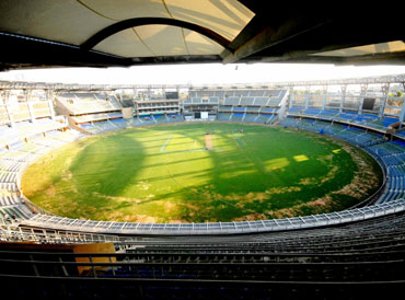 The new look Wankhede stadium
