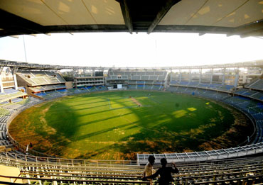 The Wankhede stadium
