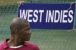 Darren Sammy during Wednesday's practics in Delhi