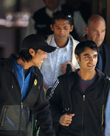 The banned Pakistan trio of Amir, Asif and Butt