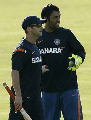 Kirsten and Dhoni