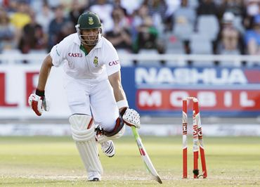 Kallis survives a run-out attempt on Day 2