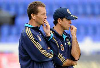Ricky Ponting  and Andrew Hilditch