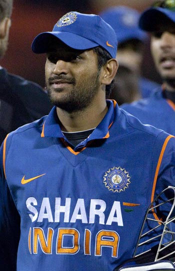Two Warm Up Games Before Wc Will Be Ideal Dhoni Rediffcom Cricket