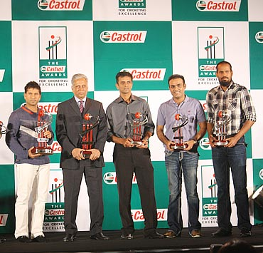 The Castrol Awards for Cricket Excellence winners