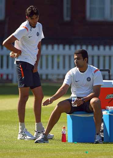 Ishant Sharma and Zaheer Khan