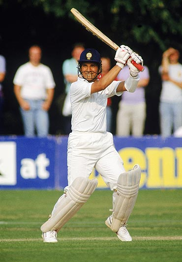 Sachin Tendulkar on the 1990 tour of England