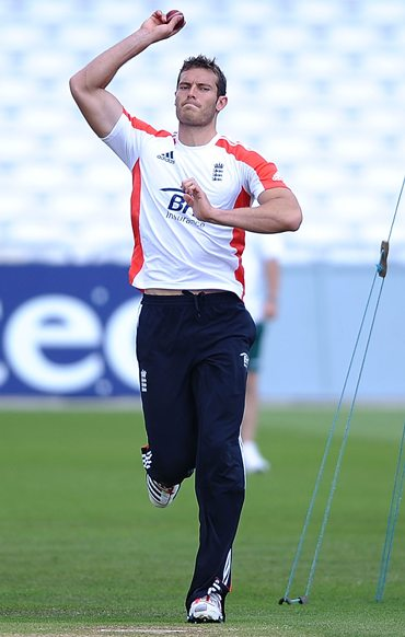 Chris Tremlett undergoes a late fitness test on Thursday