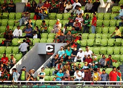 The Bangladesh cricket fans